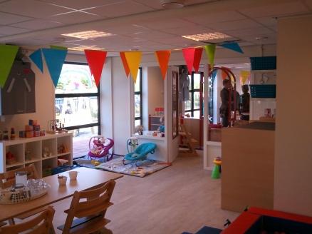 Verbouw garage tot kinderdagverblijf te Oosterblokker