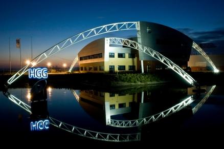 Kantoor en bedrijfsruimte HGG Group b.v. te Wieringerwerf
