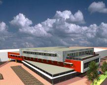 Nieuwbouw kantoorpand met showroom te Edam
