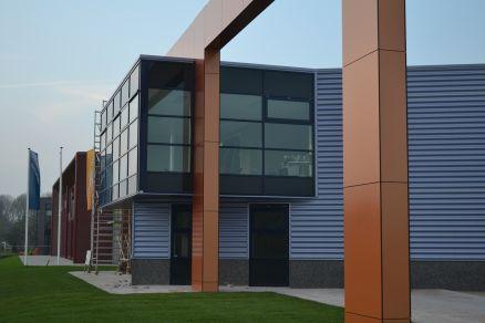 Nieuwbouw bedrijvencentrum te Opmeer