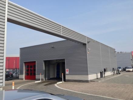 Auto wasstraat te Alkmaar